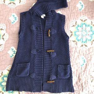 Old Navy Girls Knit Vest, Size S